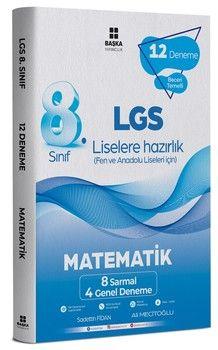 Başka Yayıncılık 8. Sınıf LGS Matematik 12 li Deneme