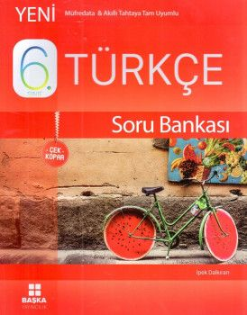 Başka Yayıncılık 6. Sınıf Türkçe Çek Kopar Soru Bankası