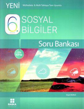 Başka Yayıncılık 6. Sınıf Sosyal Bilgiler Çek Kopar Soru Bankası