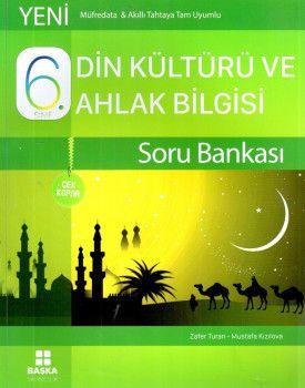 Başka Yayıncılık 6. Sınıf Din Kültürü ve Ahlak Bilgisi Çek Kopar Soru Bankası