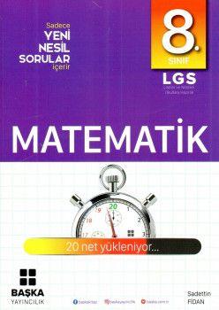 Başka Yayıncılık 8. Sınıf LGS Matematik Yeni Nesil Sorular