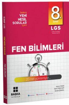 Başka Yayıncılık 8. Sınıf LGS Fen Bilimleri Yeni Nesil Sorular