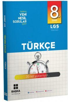 Başka Yayıncılık 8. Sınıf LGS Türkçe Yeni Nesil Sorular