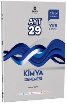 Başka Yayıncılık YKS 2. Oturum AYT Kimya 29 Çizgi Denemesi