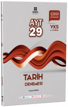 Başka Yayıncılık YKS 2. Oturum AYT Tarih 29 Çizgi Denemesi