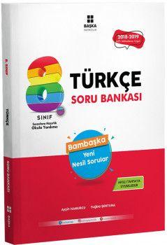 Başka Yayıncılık 8. Sınıf Türkçe Soru Bankası