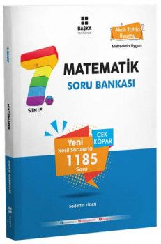 Başka Yayıncılık 7. Sınıf Matematik Soru Bankası