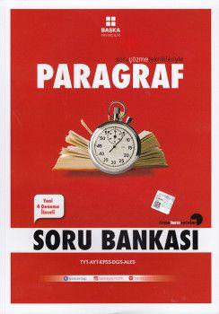 Başka Yayıncılık TYT AYT KPSS DGS ALES Paragraf Soru Bankası