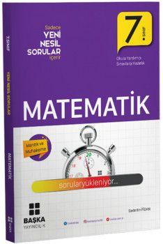Başka Yayıncılık 7. Sınıf Matematik Yeni Nesil Sorular