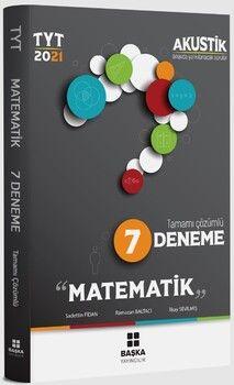 Başka Yayıncılık 2021 TYT Matematik MatematikAkustik 7 Deneme