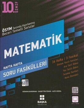 Başka Yayıncılık10. Sınıf Matematik Soru Fasikülleri 3 Fasikül