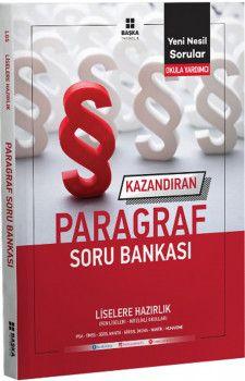 Başka Yayıncılık Liselere Hazırlık Kazandıran Paragraf Soru Bankası