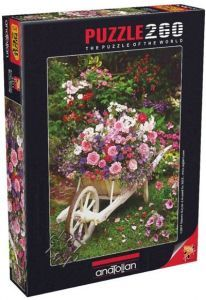 Bahçe Çiçekleri / Garden Flowers 260 Parça Puzzle - Yapboz