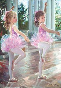Balerinler  Ballerinas 500 Parça Yapboz