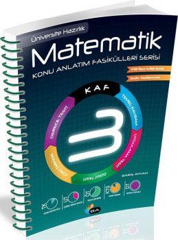 Barış Ayhan Yayınları Matematik Konu Anlatımlı Fasikülleri Serisi KAF 3 Spiral Cilt