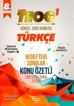 Barış Kitap 8. Sınıf TEOG Türkçe Güncel Soru Bankası