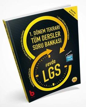 Basamak Yayınları 8. Sınıf LGS 1. Dönem Tekrarı Tüm Dersler Evde Soru Bankası