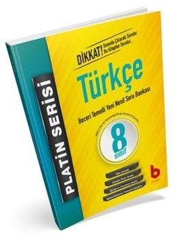 Basamak Yayınları 8. Sınıf LGS 1. Dönem Türkçe Beceri Temelli Yeni Nesil Soru Bankası Platin Serisi