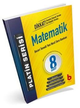 Basamak Yayınları 8. Sınıf LGS 1. Dönem Matematik Beceri Temelli Yeni Nesil Soru Bankası Platin Serisi