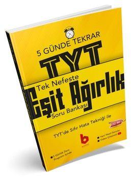 Basamak Yayınları TYT Eşit Ağırlık Tek Nefeste 5 Günde Soru Bankası