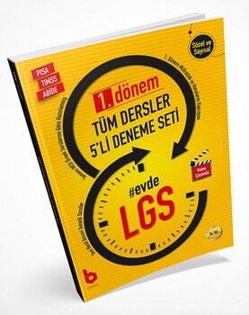 Basamak Yayınları 8. Sınıf LGS 1. Dönem 5 li Deneme