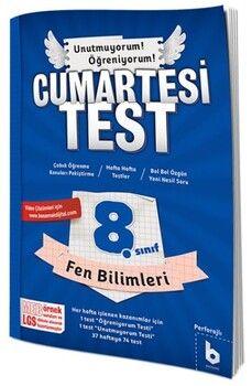 Basamak Yayınları 8. Sınıf LGS Fen Bilimleri Cumartesi Test