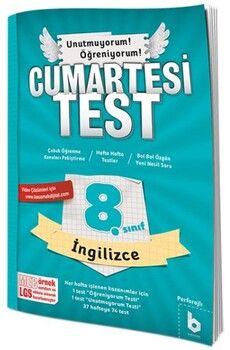 Basamak Yayınları 8. Sınıf LGS İngilizce Cumartesi Test