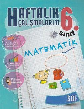 Batı Akademi Yayınları 6. Sınıf Matematik Haftalık Çalışmalarım 30 Hafta