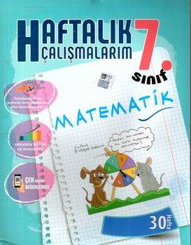 Batı Akademi Yayınları 7. Sınıf Matematik Haftalık Çalışmalarım