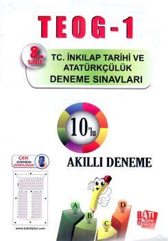 Batı Akademi Yayınları 8. Sınıf TEOG 1 T.C. İnkılap Tarihi ve Atatürkçülük 10 lu Deneme Sınavı