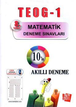 Batı Akademi Yayınları 8. Sınıf TEOG 1 Matematik 10 lu Deneme Sınavı
