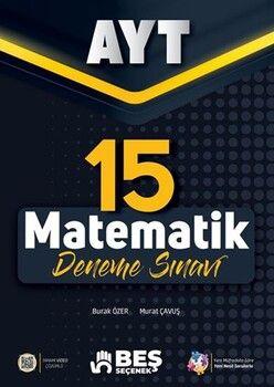 Beş Seçenek Yayınları AYT Matematik 15 Deneme