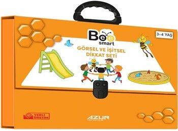 Bee Smart Görsel ve İşitsel Dikkati Seti 3 4 Yaş