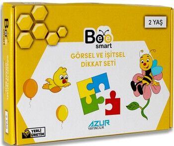 Bee Smart Görsel ve İşitsel Dikkati Seti 2 Yaş