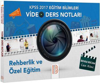 Benim Hocam 2017 KPSS Eğitim Bilimleri Rehberlik ve Özel Eğitim Video Ders Notları