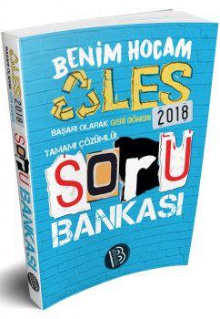 Benim Hocam 2018 ALES Tamamı Çözümlü Soru Bankası