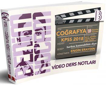 Benim Hocam 2018 KPSS Coğrafya Video Ders Notları Engin Eraydın
