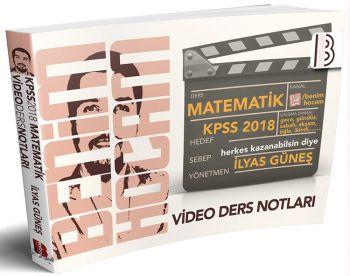 Benim Hocam 2018 KPSS Matematik Video Ders Notları İlyas Güneş