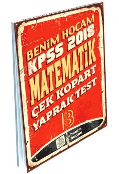 Benim Hocam 2018 KPSS Matematik Çek Kopart Yaprak Test