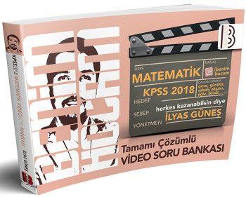 Benim Hocam 2018 KPSS Matematik Tamamı Çözümlü Video Soru Bankası