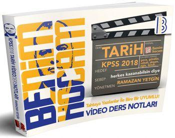 Benim Hocam 2018 KPSS Tarih Video Ders Notları Ramazan YETGİN