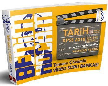 Benim Hocam 2018 KPSS Tarih Tamamı Video Çözümlü Soru Bankası Ramazan YETGİN