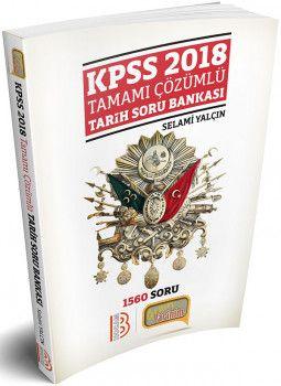 Benim Hocam 2018 KPSS Tarih Tamamı Çözümlü Soru Bankası Selami Yalçın
