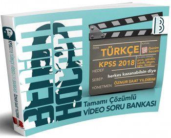 Benim Hocam 2018 KPSS Türkçe Tamamı Çözümlü Video Soru Bankası