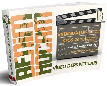 Benim Hocam 2018 KPSS Vatandaşlık Video Ders Notları