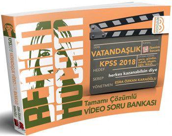 Benim Hocam 2018 KPSS Vatandaşlık Tamamı Çözümlü Video Soru Bankası