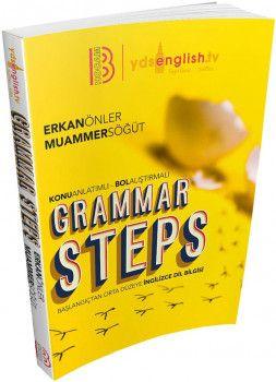 Benim Hocam 2018 YDS Grammar Steps Başlangıçtan Orta Düzeye İngilizce Dil Bilgisi Konu Anlatımlı