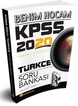 Benim Hocam 2020 KPSS Türkçe Tamamı Çözümlü Soru Bankası