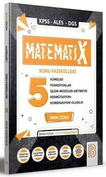 Benim Hocam 2021 KPSS ALES DGS Matematix 5 Matematik Soru Fasikülleri Çözümlü