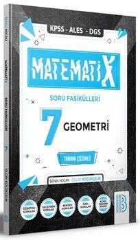 Benim Hocam 2021 KPSS ALES DGS MatematiX Soru Fasikülleri 7